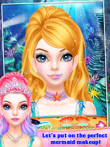 Mermaid Princess Spa & Dressup screenshot 8