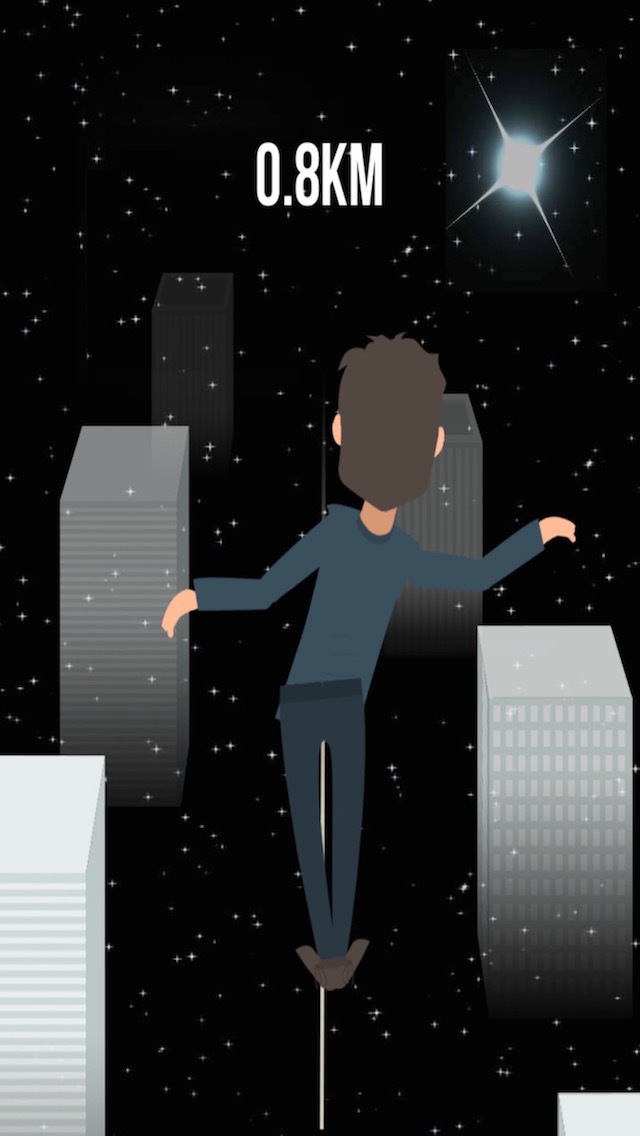 SkyWire - night walk screenshot 2