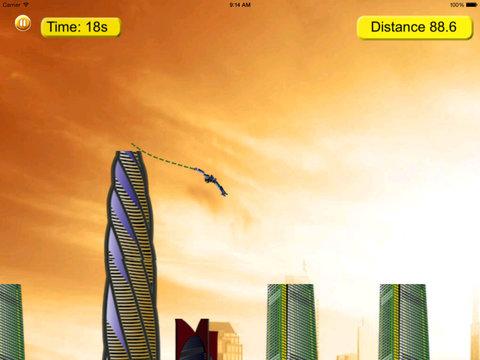 Rope Ninja Madness - Chase Jump Swing screenshot 9