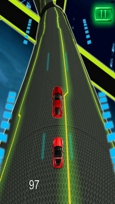 A Extreme Race Neon Pro - Amazing Speed Light Car screenshot 3