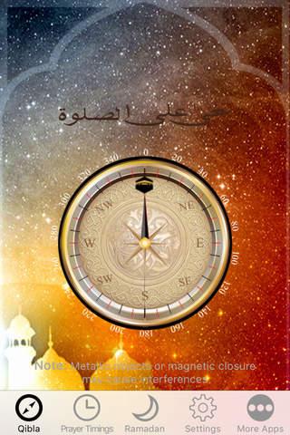 Muslim Prayer Times, Ramadan Time Table & Qibla Di - náhled
