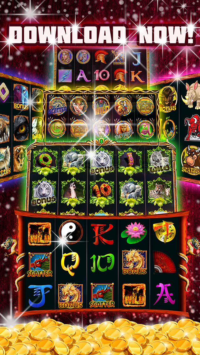 Slot Games! Lucky Mega Vegas Casino : Rich Jackpot Bonanza Edition screenshot 2