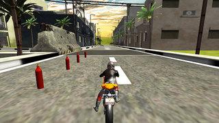 Highway Bike Rider : Moto Stunt Race screenshot 3