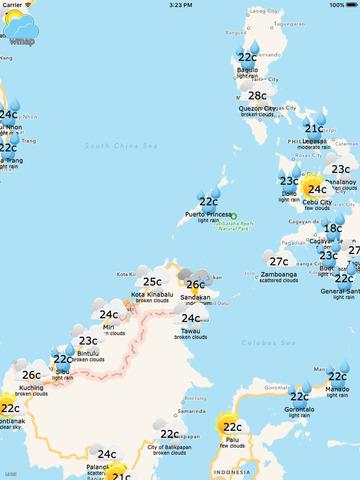 wmap - Weather Map screenshot 5