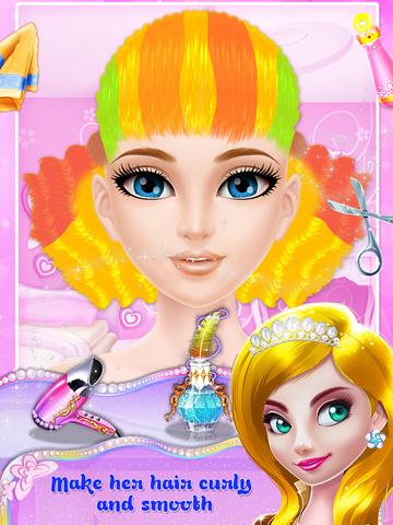 Princess Fashion Salon Stage screenshot 9