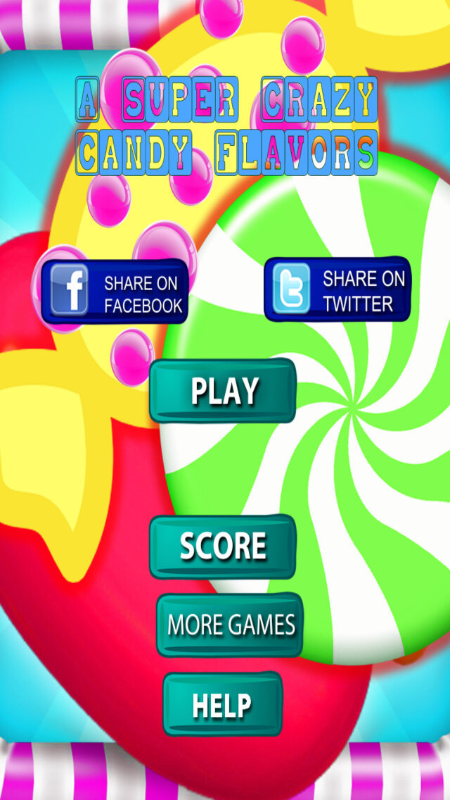 A Super Crazy Candy Flavors - Melting Game Magic Candy screenshot 1