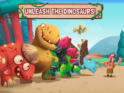 Dino Bash - Defend & Fight screenshot 7