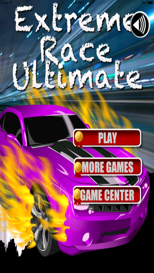 A Extreme Race Ultimate - Speed Flames Amazing screenshot 1