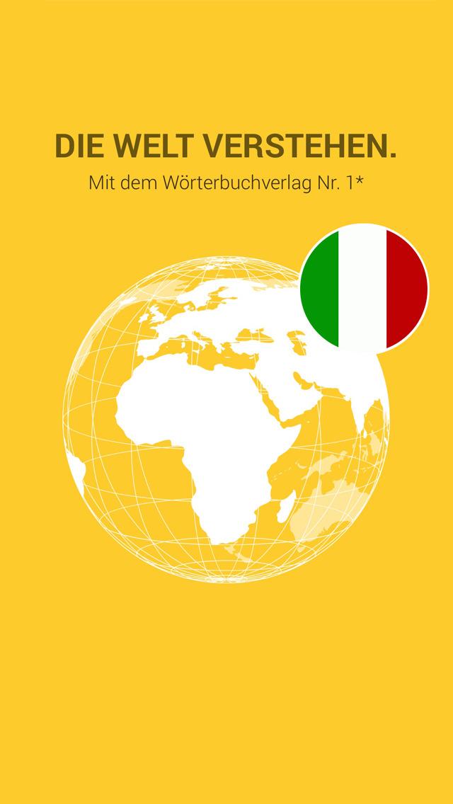 Italian German Dictionary screenshot 1