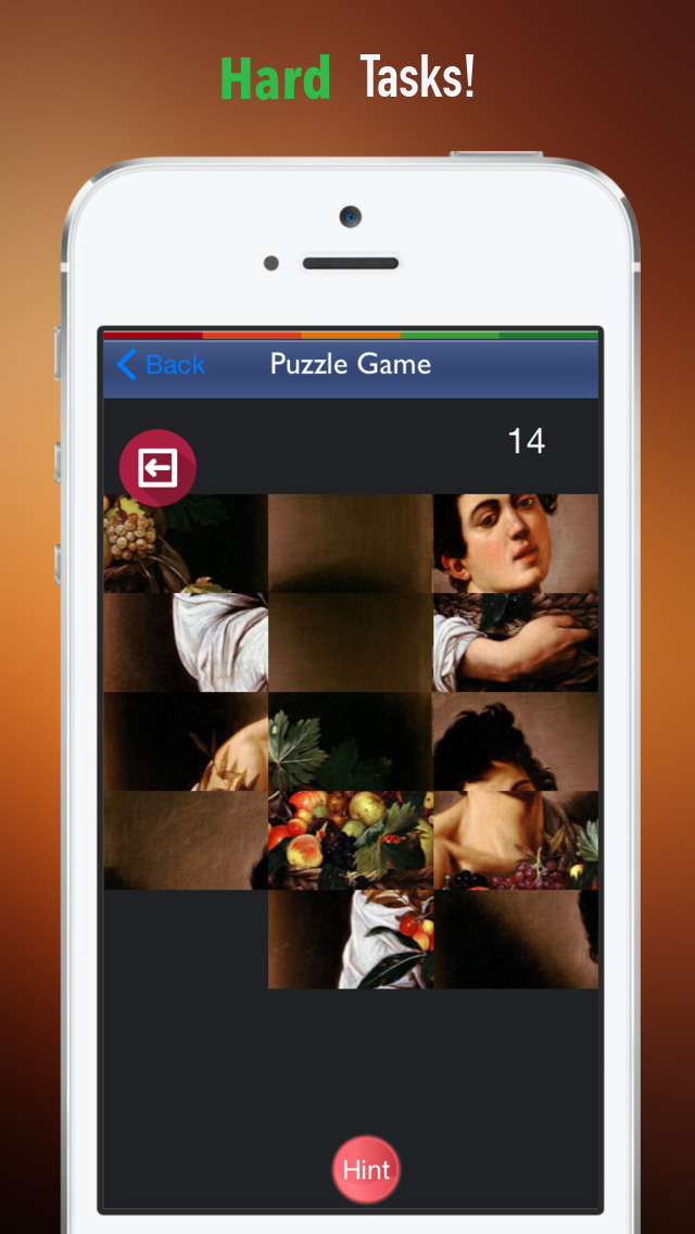 Memorize Famous Renaissance Art by Sliding Tiles Puzzle: Learning Becomes Fun screenshot 4