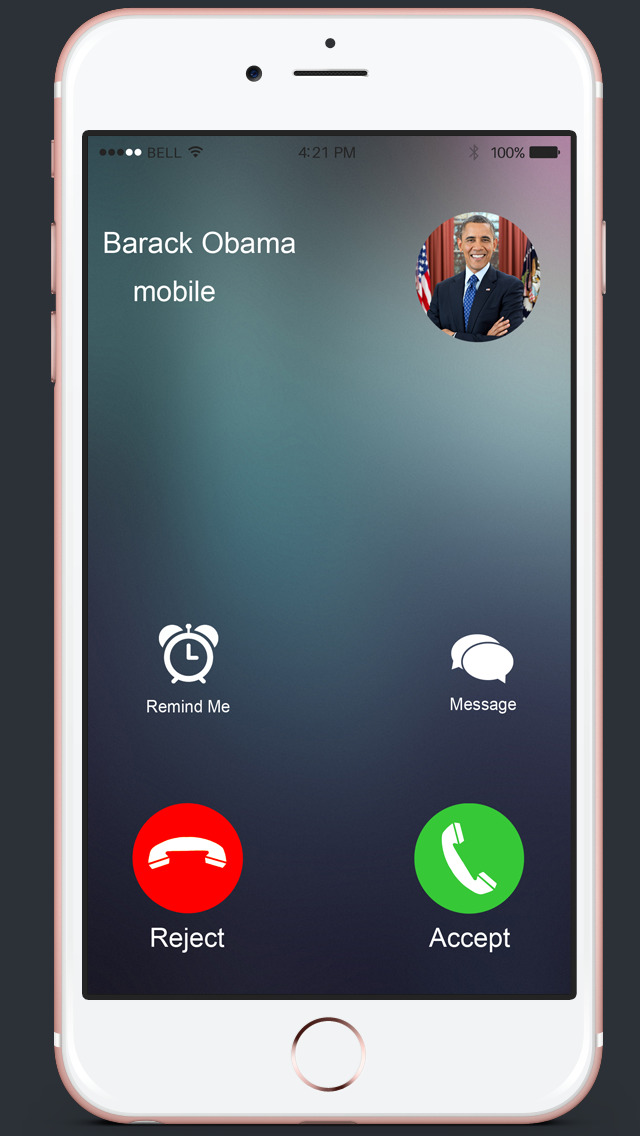 Barack Fans Free Fake Obama Call Apps - Schedule Friends Prank 148apps For