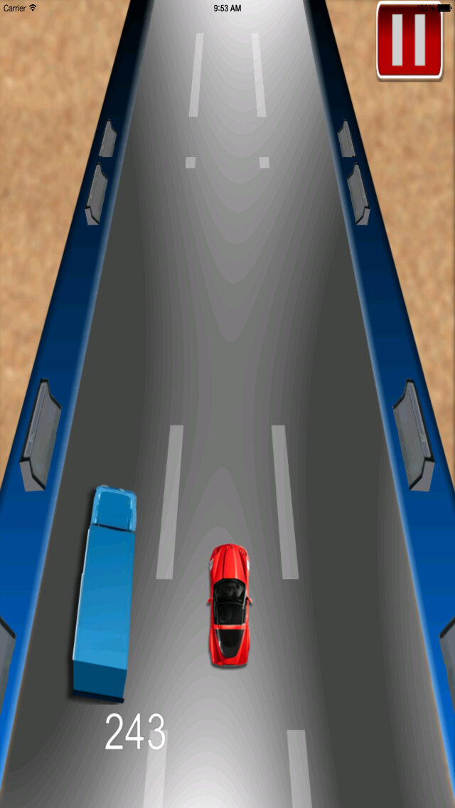 Car Driving Chase - Racing Rush Simulator Game screenshot 4