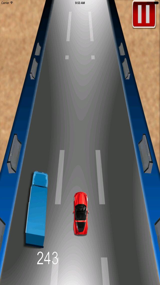 Car Driving Chase - Racing Rush Simulator Game screenshot 4