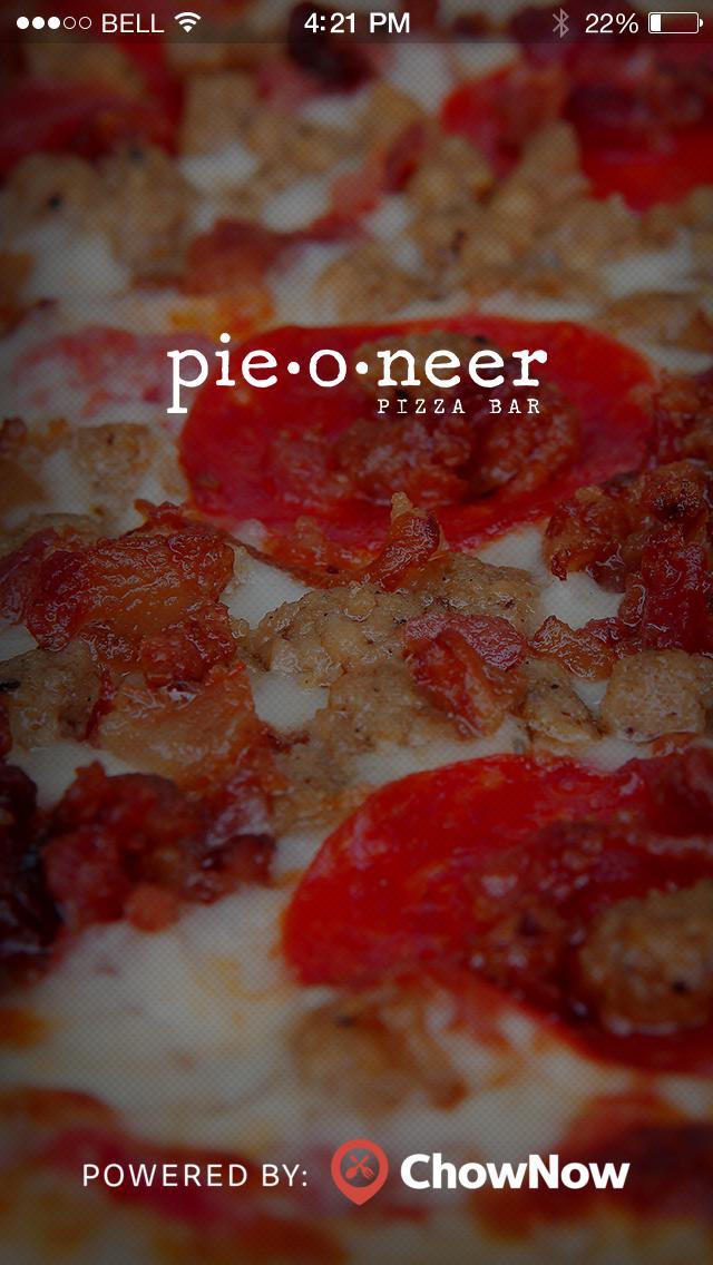 Pieoneer Pizza Bar screenshot 1