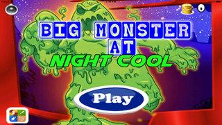 Big Monster At Night Cool - Game Jumps At Night screenshot 1