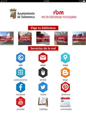 Bibliotecas Municipales Salamanca screenshot 6