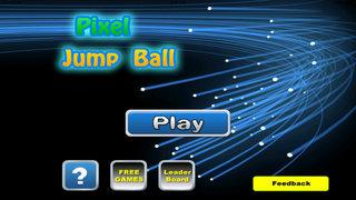 A Pixel Jump Ball Pro - Temple Of Mega Dash Endles Zone screenshot 1