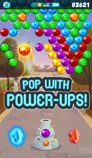 Bubble Shooter Paris screenshot 4