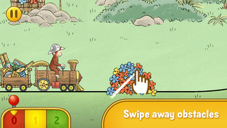 Curious George Train Adventure screenshot 2