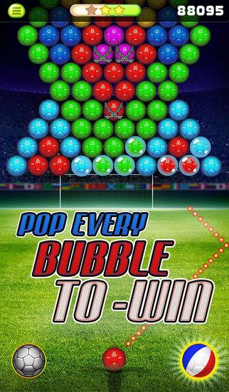 Bubble Shooter - for EURO 16 screenshot 3