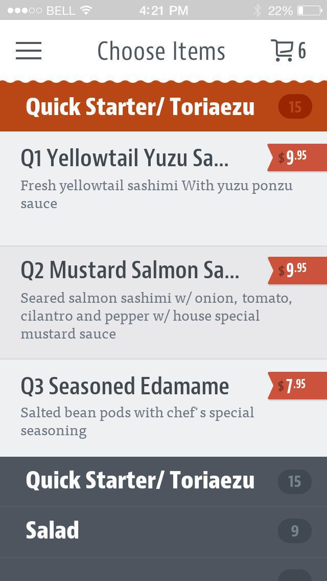 Banzai Sushi To Go screenshot 3