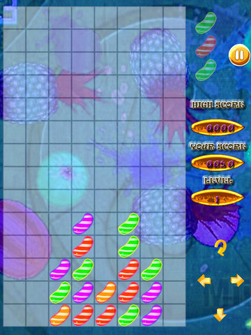 A Super Fusion Of Fruits And Flavors - Tetris Game Large Fruit screenshot 9