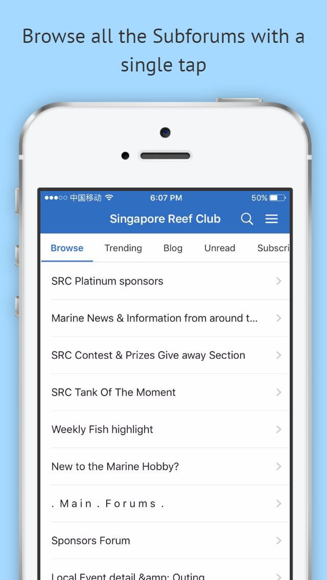 Singapore Reef Club Forum screenshot 2