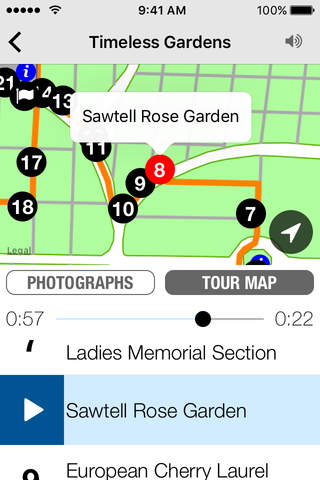 Oakland Cemetery Audio Tours - náhled