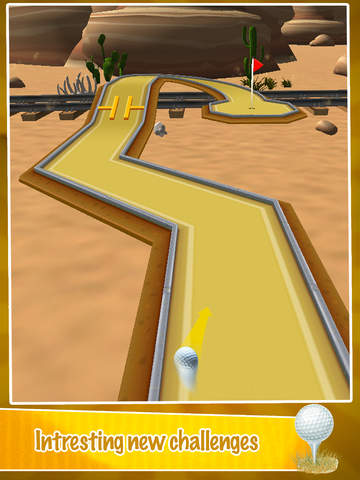 Mini Golf PRO : Desert Edition 2016 - Play golf holes in classic sand environment by BULKY SPORTS screenshot 9