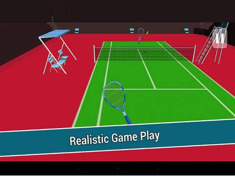 Play Virtual Tennis Champion 3D screenshot 8