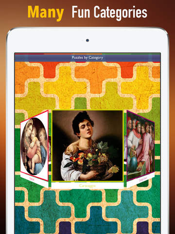 Memorize Famous Renaissance Art by Sliding Tiles Puzzle: Learning Becomes Fun screenshot 5
