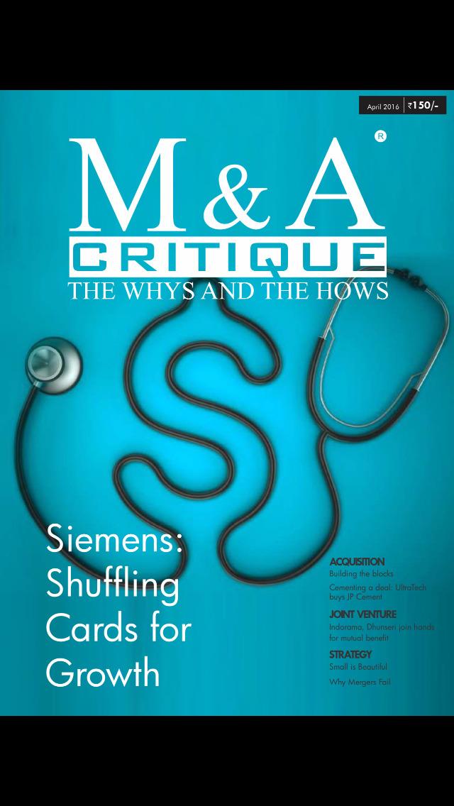 M & A Critique screenshot 1