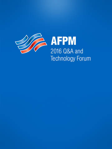 AFPM Q&A Technology Forum screenshot 4