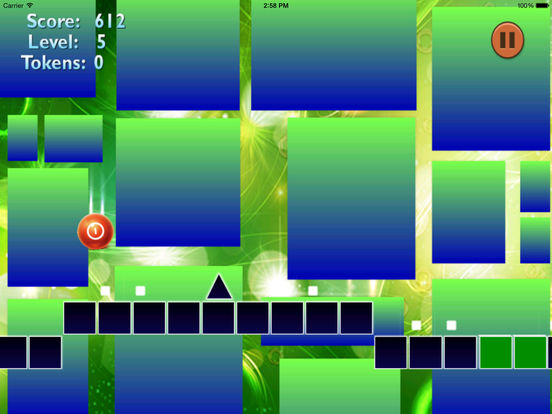 Neon Jump Geometry - Temple Of Ball And Block screenshot 8