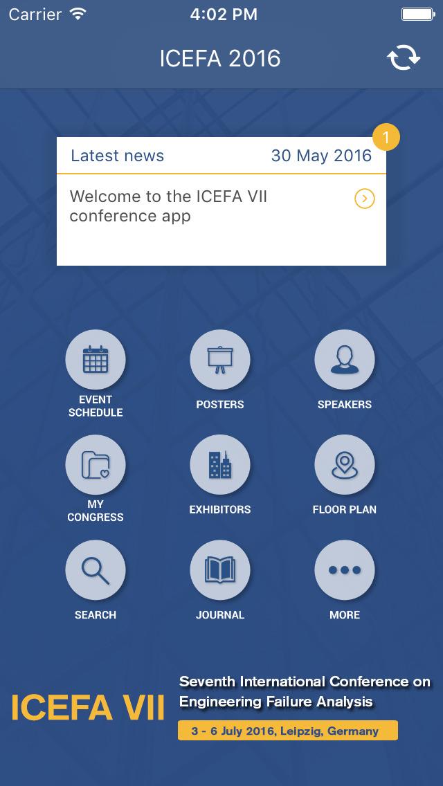 ICEFA 2016 screenshot 2