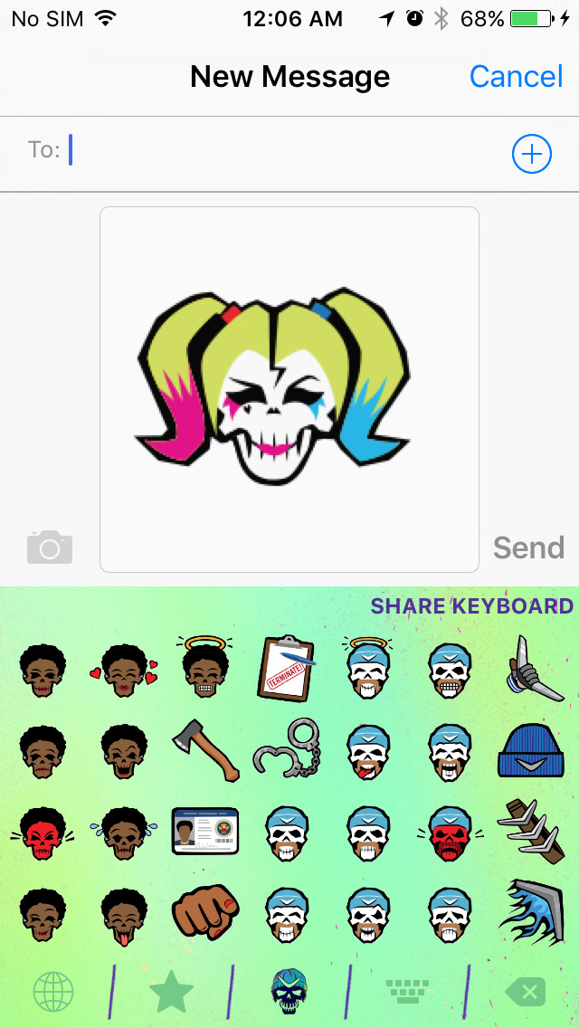 Suicide Squadmoji screenshot 2