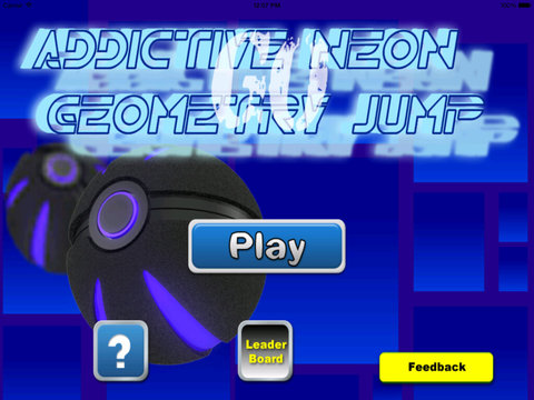 Addictive Neon Geometry Jump Go Pro - Awesome Jump And Absatract Game screenshot 6