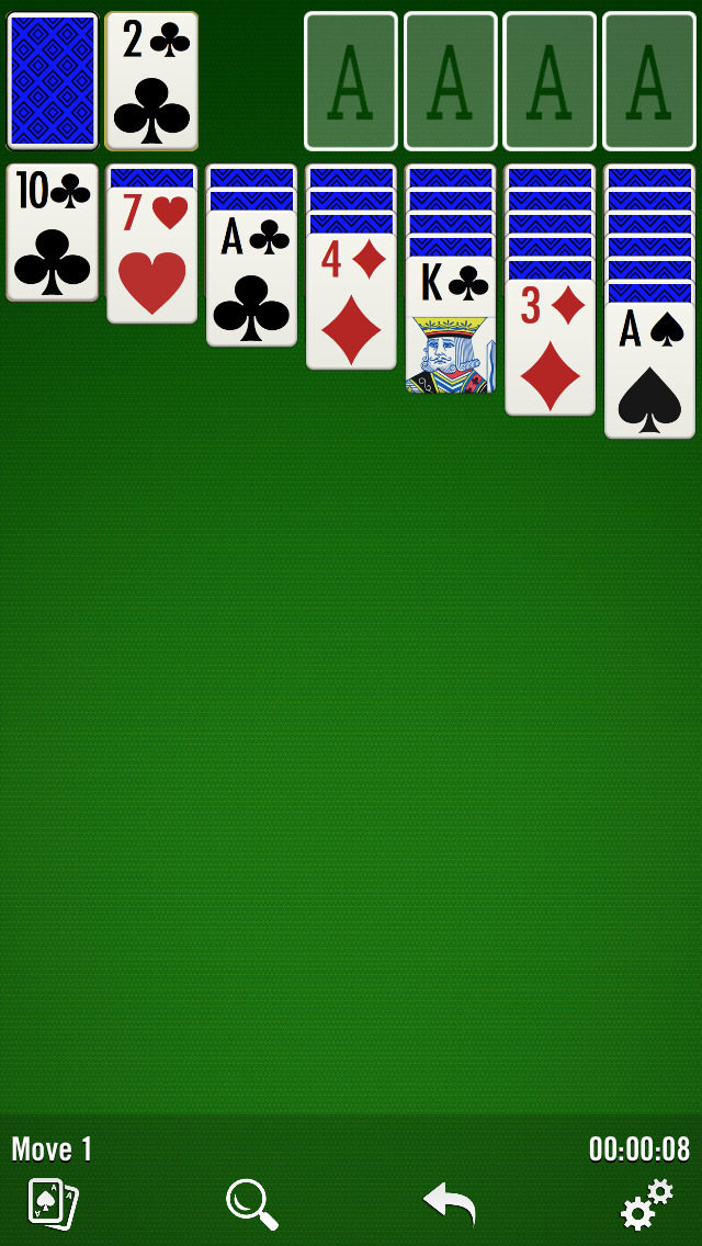 Solitaire for Windows screenshot 1