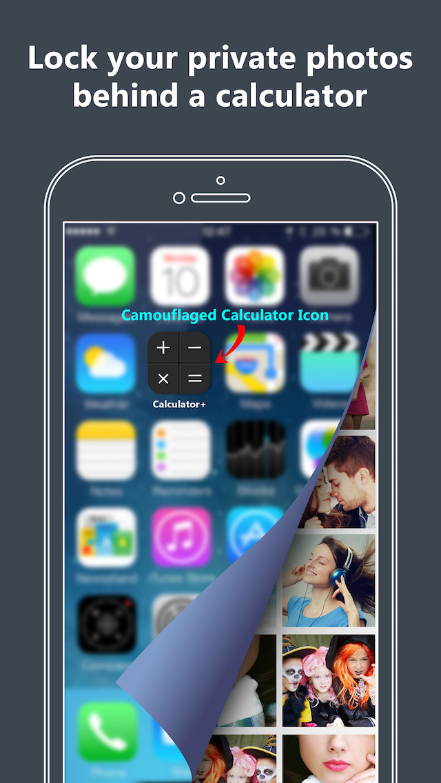 Secret Calculator Vault - hide private photos & videos