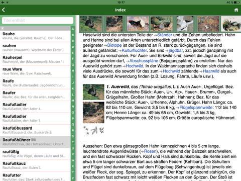 Das große Kosmos Jagdlexikon screenshot 7