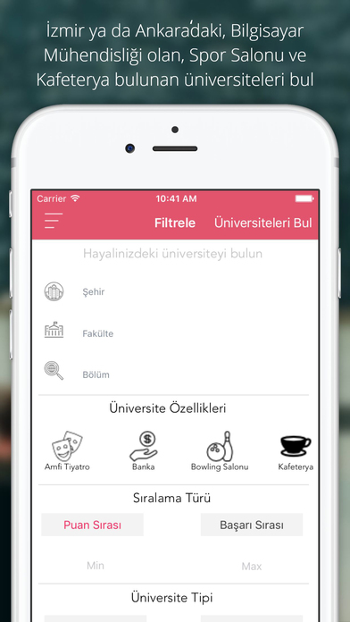 UniverList - University Guide screenshot #5