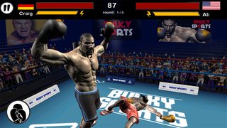 Real Boxing night 2016 - The knockout kings championship simulation game to punch out the beasts on real fight night by BULKY SPORTS screenshot 1