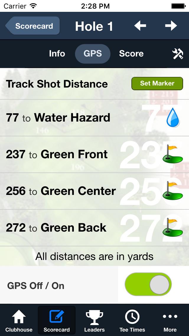 Crystal Ridge Golf Club screenshot 4