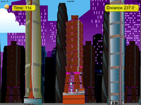 Steel Swing - City Rope Swing screenshot 8