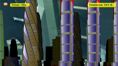 Rope Jump Agent - Bouncing Swing Amazing screenshot 1