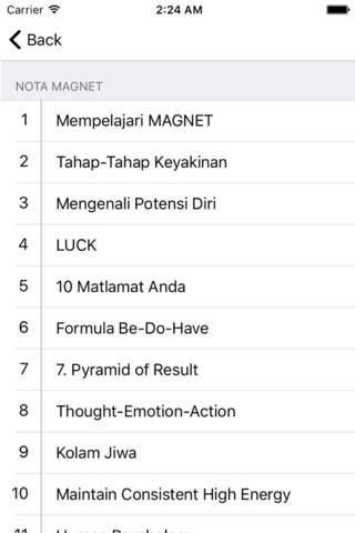 Nota Magnet - náhled