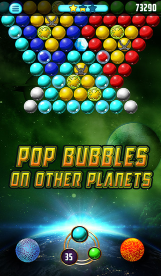 Bubble Galaxy Deluxe screenshot 2