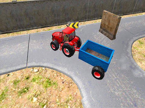Farm Tractor Simulator : 3D Parking Driving Game screenshot 6