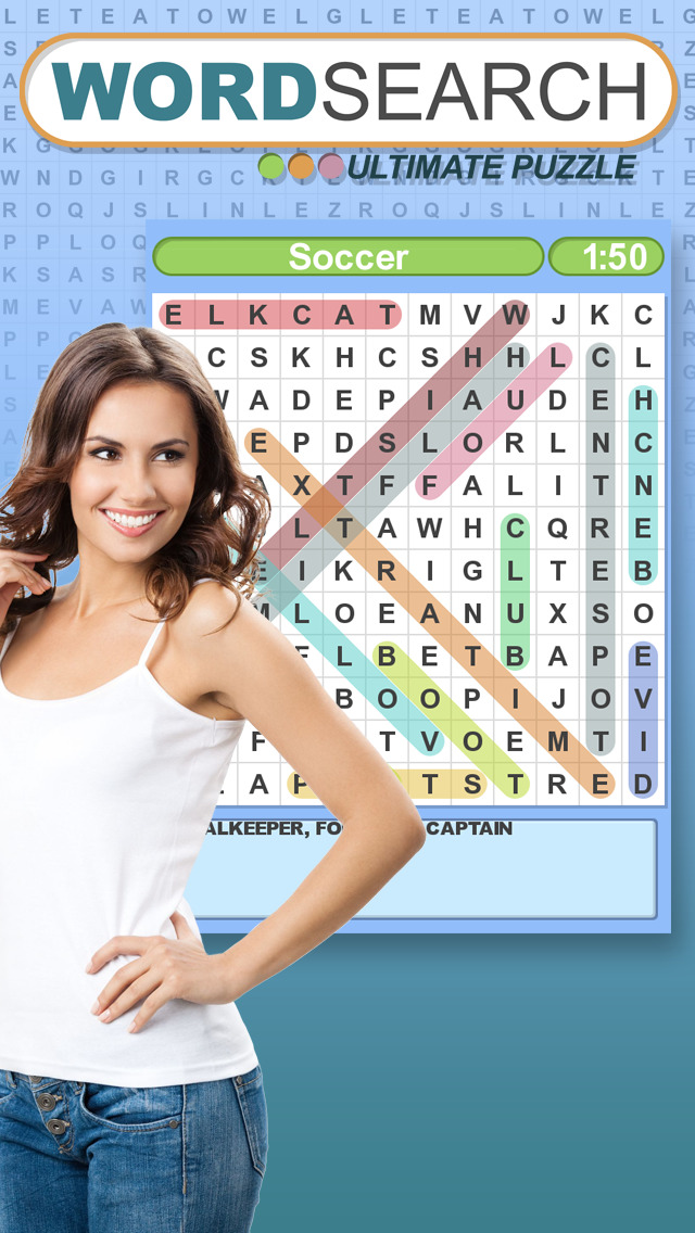 Word Search Ultimate Puzzle screenshot #5