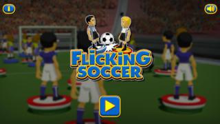Flicking Soccer screenshot 1